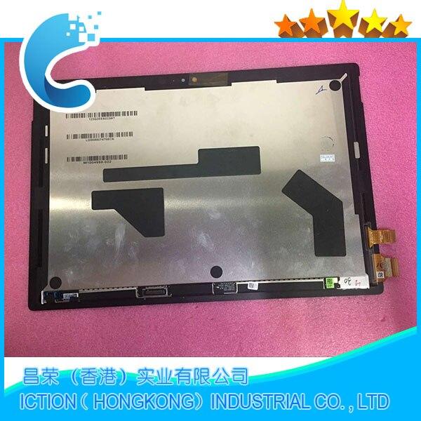 Original 1796 asamblea para Microsoft surface pro 5 modelo 1796 LP123WQ1 (SP) (A2) pantalla lcd pantalla táctil vidrio digitizer Asamblea - 2