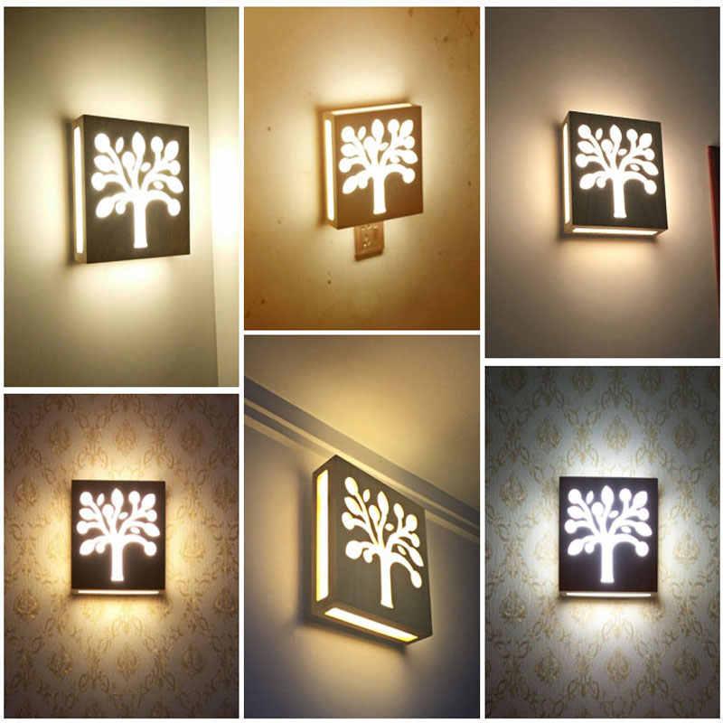Современные Настенные светильники Бра Гостиная деревянный ресторан спальня декоративные настенные светильники Lamparas домашний осветительный прибор