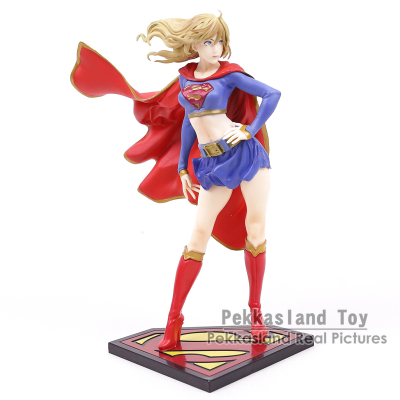 DC Comics Justice League Super Girl Supergirl PVC Figure Collection Model Toy 20cm