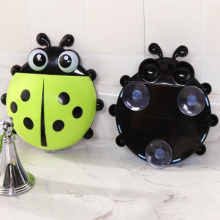 Cute Ladybug Wall Toothbrush Holder/Suction Hooks