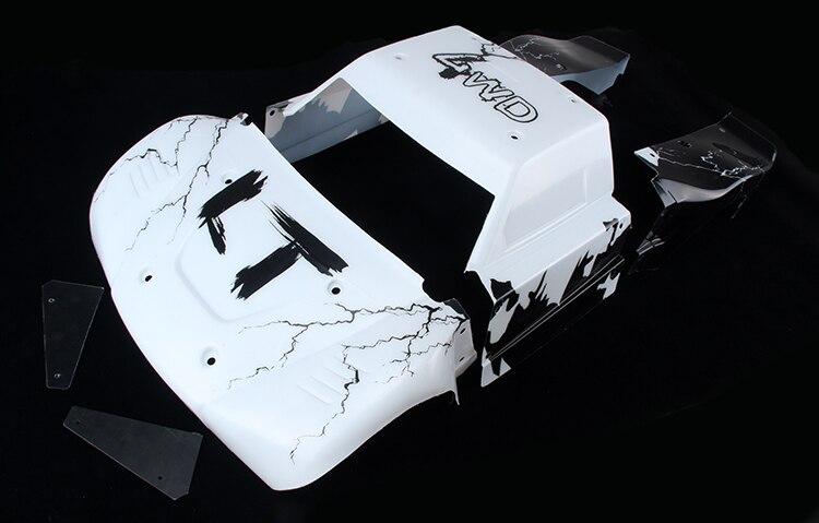 2014 LT 5T white black body cover t 2014