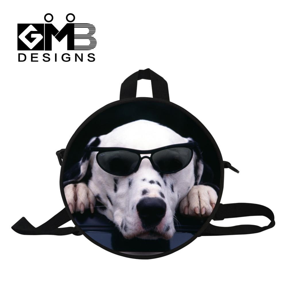 puppy round bag for girls