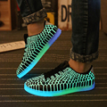 2016 fashion cool Luminous Shoes super bright in night Shoes For  Men special snake pattern  shoe for lovers