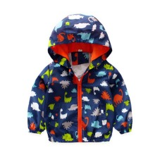 hot deal buy spring autumn kids jacket coat baby boy coat jacket for girls cute dinosaur baby hooded jacket children outerwear girls jackets