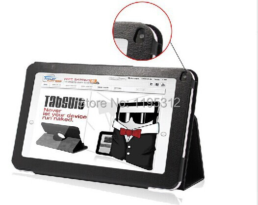 """Special Leather Case Stand Cover For 9"""" inch Android Tablet PC MID Allwinner A13 A20 A23 Actions ATM7021 Rated"""