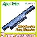 Apexway 6600 mah 11.1 v batería para acer aspire 4741 5552g 5551g 5560g 5733z 5741g as10d31 as10d61 as10d71 as10d51 as10d41 9 células