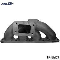 T3 Turbocharge Exhaust Manifold Header Cast For Honda Civic CRX 92 00 B16 B18B Series TK EM03