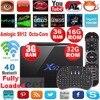 Original X92 3g 16g 3G/32G Amlogic S912 Android 6.0 TV Box Octa Core 2.4G 5G Wifi 4K 3D H.265 Smart tv media player Set Top Box