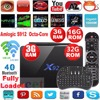X92 2g 16g 3G/32G Amlogic S912 Android 6.0 TV Box Octa Core Kodi Fully Loaded 5G Wifi 4K 3D H.265 Smart media player Set Top Box