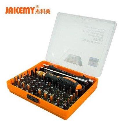 JAKEMY JM 8127 Multipurpose Screwdriver Set 53in1 Interchangeable Precision Screwdriver Portable Electronic Repair Hardware Tool|screwdriver set|jakemy jm-8127|precision screwdriver - title=