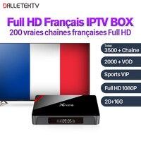 Dalletektv Xnano Android Full HD IPTV French Box S905X 2G 16G With Arabic IPTV French 1
