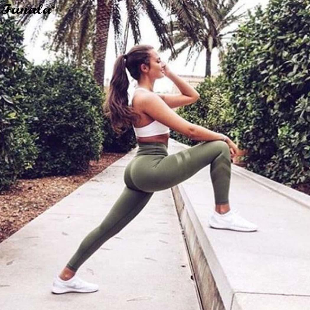 FANALA Leggings Womens Fitness Slim Pants Stretch Sporting Pants Trousers High Elasticity Leggins Legins Trouser Pant for Women