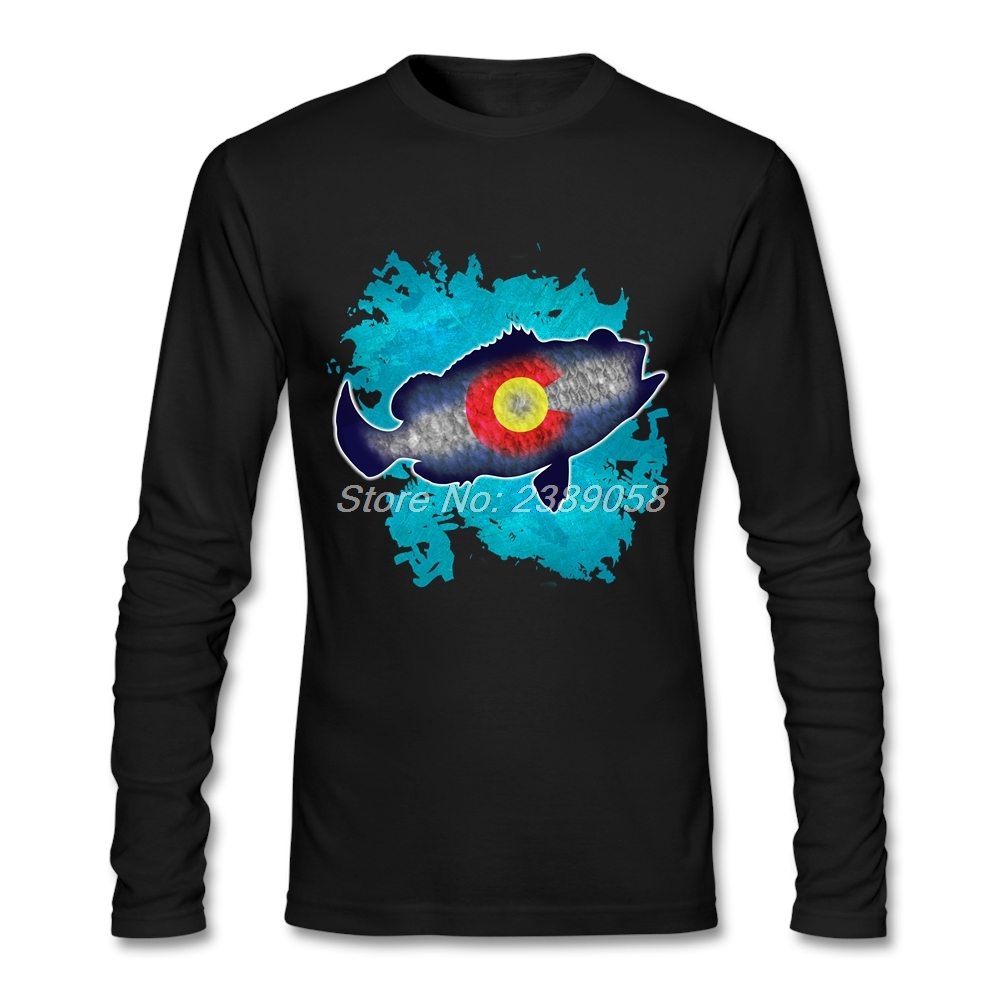 Shirt Langarm Fische