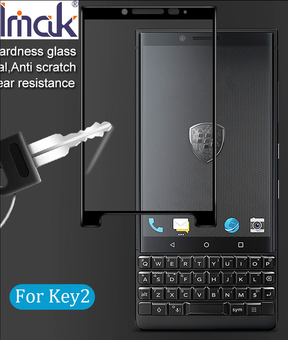 imak Full Screen Cover Tempered Glass For BlackBerry KEY2 Key 2 LE 2.5D Curved oleophobic Athena(China)