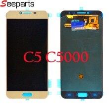Ensemble écran tactile LCD Super AMOLED de remplacement, pour Samsung Galaxy C5 C5000