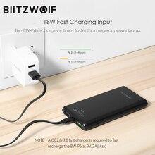 BlitzWolf 10000mAh QC3.0 Dual USB Fast Charging Power Bank