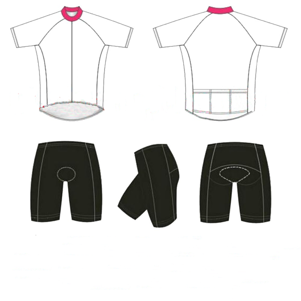 Factory Price 2018 Custom Cycling Jersey Shorts Summer Set Customize Cycling Clothes In Any Color Any