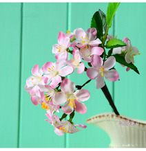 Photography Props Artificial Flower Bouquet Simulation Cherry Blossom For Home Photo Studio Accessories Decoration