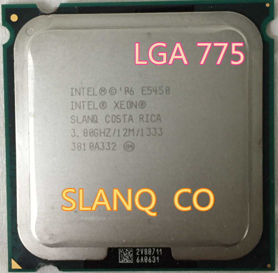 Xeon e5450 slanq co четырехъядерный процессор близко к LGA775 Процессор, работает на LGA 775 платы нет необходимости адаптер slanq только отправить co,