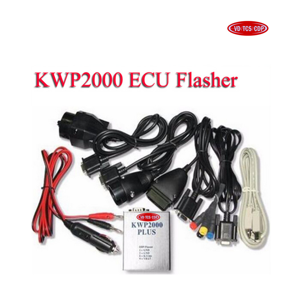 VD TCS CDP KWP2000 Plus OBD2 ECU Flasher Chip Tuning Kit ECU au Point Du Moteur Reconfigurer
