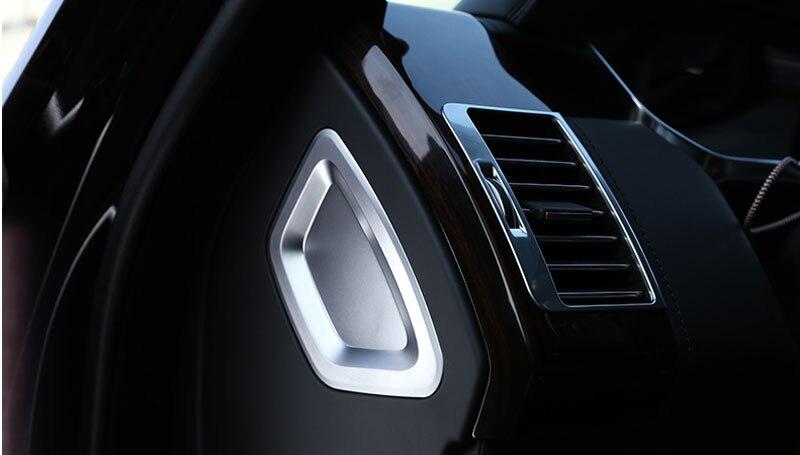 Prix pour Pour Land Rover Range Rover Vogue Car Styling Center Console Décoration Couverture Garniture Autocollant ABS Chrome Accessoires Nouveautés