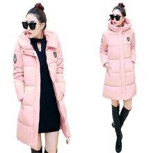 2016 Женщин Зимой Вниз Куртки И Пальто Женщин Плюс Размер Высокая качество Теплый Женский Утолщение Тонкий Теплый Куртка Капюшон Пальто C208