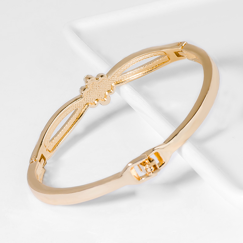 Women Crystal Gold Color Bracelets