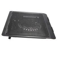 USB Notebook Cooler Cooling Laptop Cooler Pad 1 Big Fans For Laptop PC Base Computer
