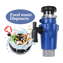 цена на GZZT 1.3L 380W Kitchen Food Waste Disposer Food Garbage Disposal Machine With Air Switch Easy Installing Kitchen Tools