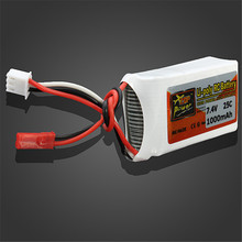 Rechargeable 1000 mAh Li-Po Battery for RC Drones
