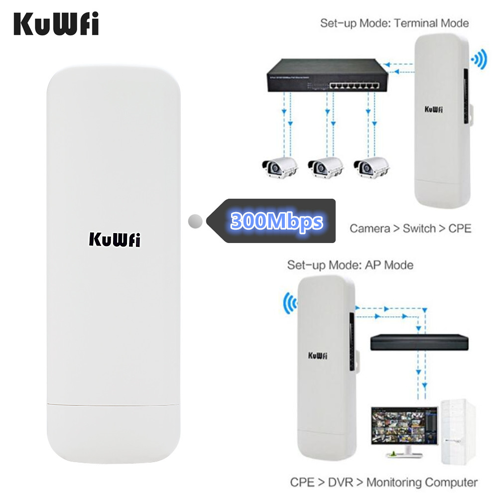 3.5KM WIFI Range Wireless WIFI Extender WIFI Repeater 5.8G 300Mbps Outdoor CPE Router WiFi Bridge Access Point AP Router 1000mW 3km long range outdoor cpe wifi router 2 4ghz 300mbps wireless ap wifi repeater access point wifi extender bridge client router