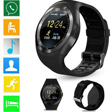 hot deal buy smart watches wristband style high resolution touch control health monitoring smart reminder information push mobile positioning