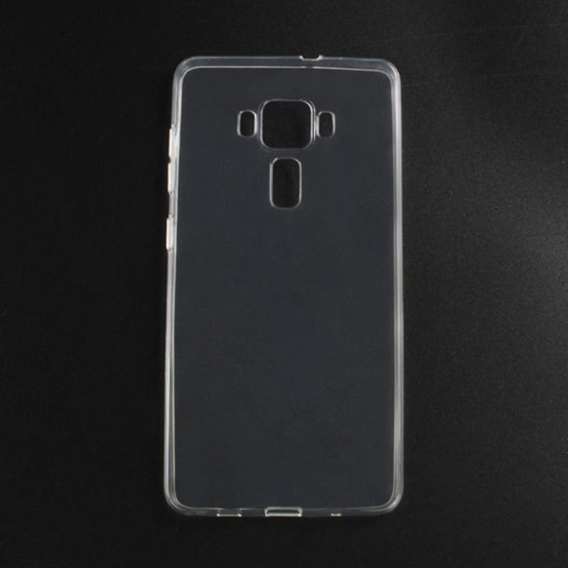 sports shoes d44ef 9ab79 US $85.0  100Pcs Soft Transparent TPU Gel Case Skin for Asus Zenfone 3  ZE552KL 5.5''/Zenfone 3 Deluxe ZS570KL 5.7'' Phone Protective Cover-in ...