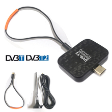 OTA Full HD DVB-T2 Android Phone Pad Receiver OTG Micro USB TV tuner pad HD TV stick Watch DVB-T2 DVB-T Live Terrestrial Channel