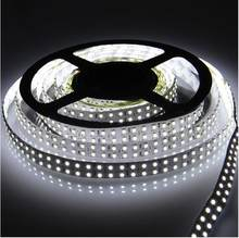 outdoor indoor 12V green color 50m reel 3528 smd 240leds/m IP65 led strip ribbon lights double row dual density luminaria luz(China)