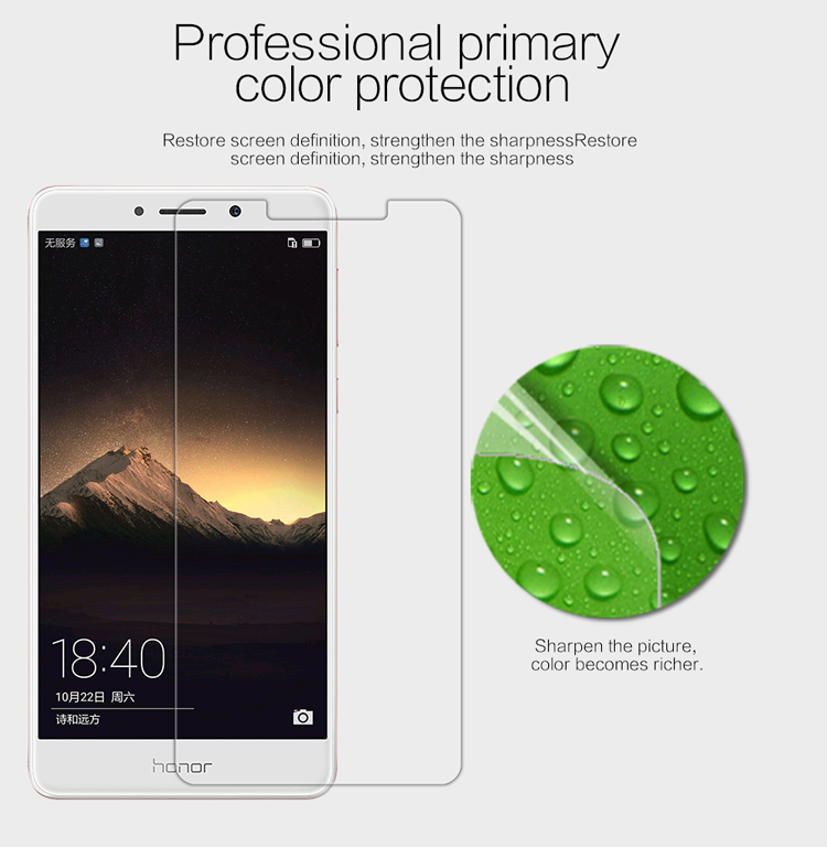 ec73dc2e9a8 Marca nillkin Matte resistente a arañazos o HD protectora Películas para  Huawei honor 6X protector de pantalla para Huawei honor 6X caso