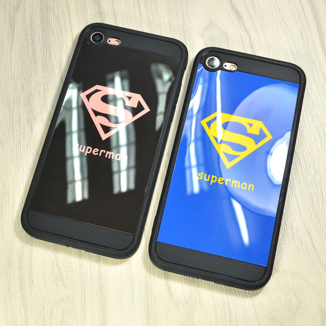 coque iphone 7 superman rose