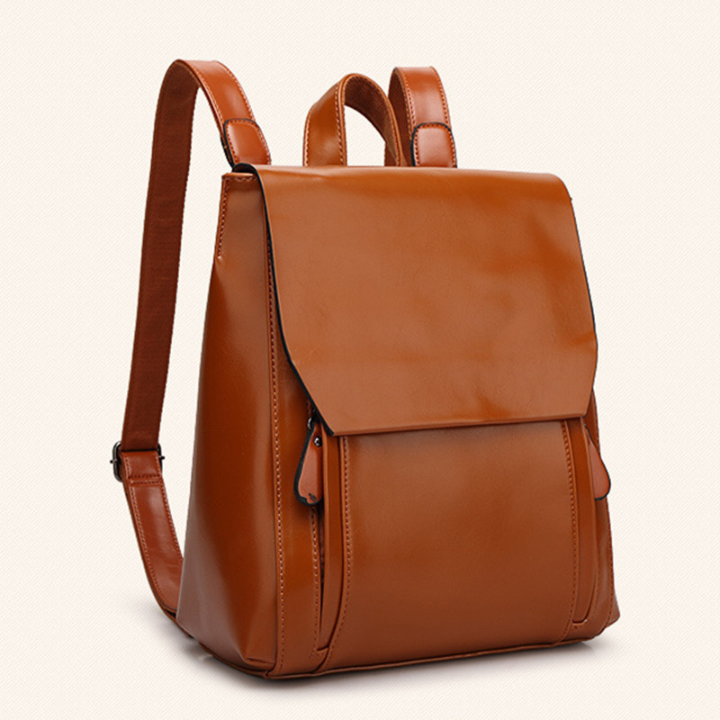 Leather Women Backpack Backpacker Sa