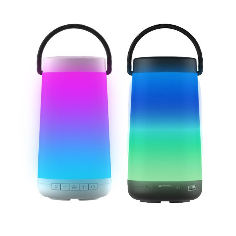 2018 Neue Laterne Tragbare Bluetooth Lautsprecher Wireless Outdoor Audio Subwoofer Unterstützung Für Radio Funktion Exquisite (In) Verarbeitung