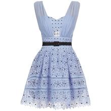 azul novos de vestido