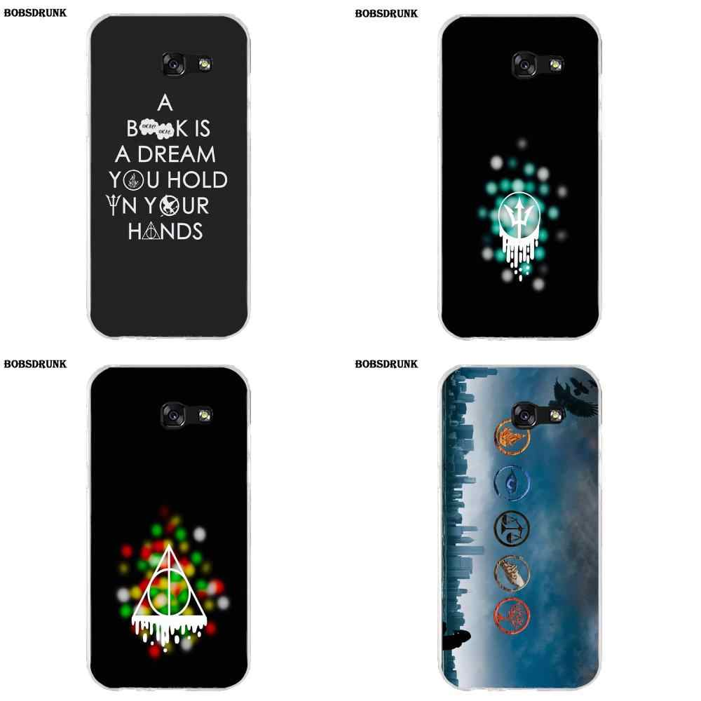 EJGROUP Percy Jackson Divergent Soft TPU Case Capa Cover For