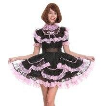 Платье для девочек из органзы с замком, платье для косплея