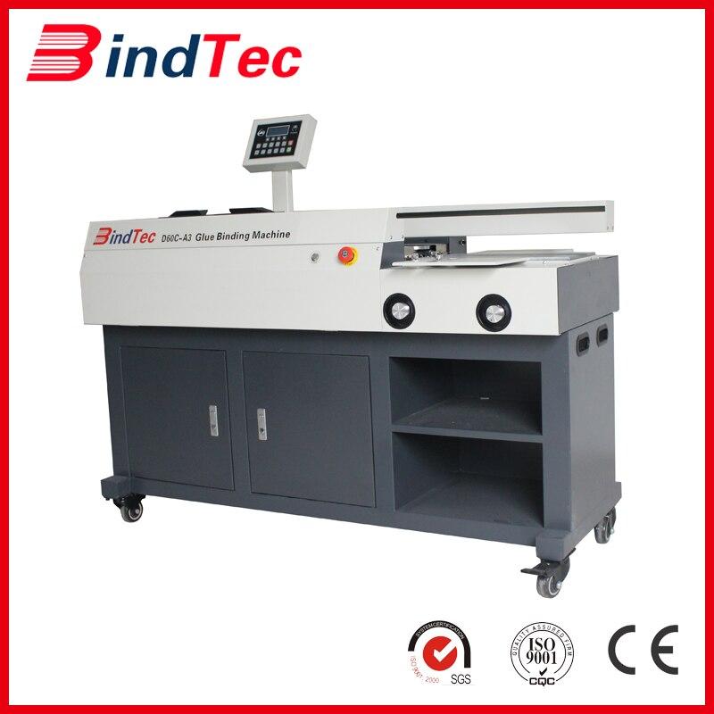 BindTec D60C A3, Glue Binding Machine, Glue Binder,good
