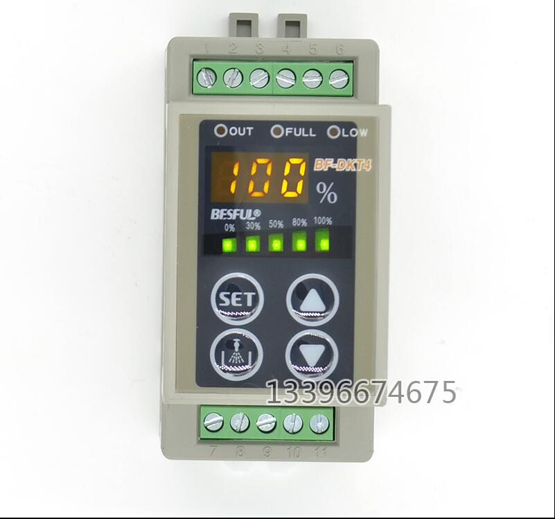 Free shipping Bihe BF-DKT4 adjustable digital level controller water level switch water tank water automatic control equipment free shipping mj 10165 2sl two balls sus304 side mounter level switch tank float switch water flow control switch