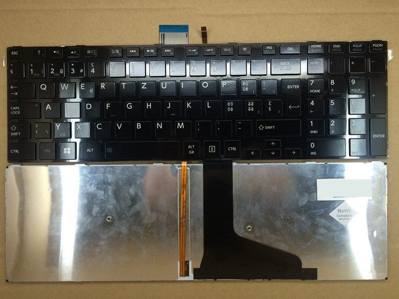 New notebook laptop keyboard for  TOSHIBA S855 S50 L50 S55 L50-A S55A SW/SWISS layout  new laptop keyboard for medion md97789 md97791 md97827 md97828 md97829 md97837 md97869 md97883 md97884 sw switzerland