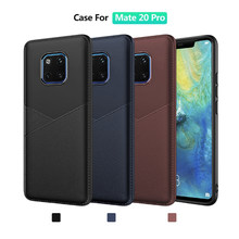 TPU Case For Huawei Mate20 Pro P30 Pro Lite Psmart 2019 Cortex Texture Protection Cover Shell(China)