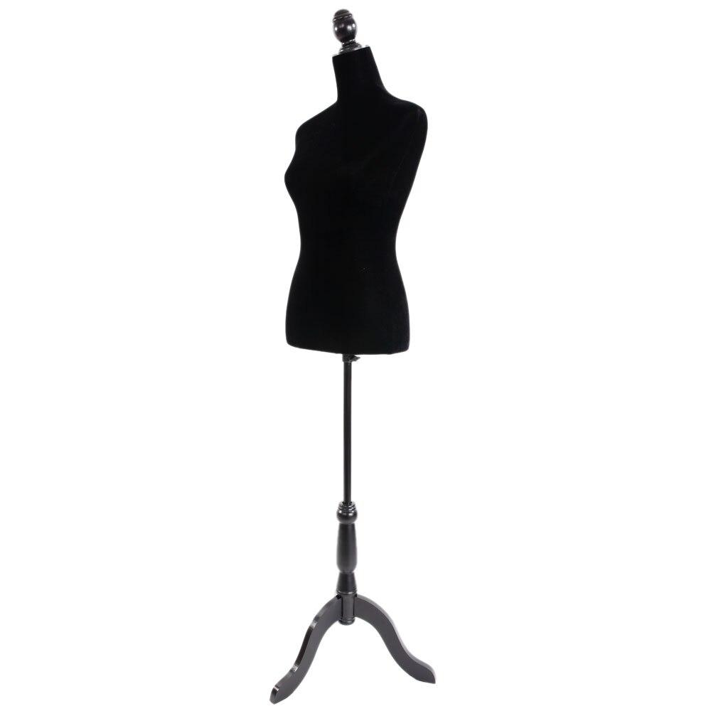 Robe noire forme Mannequin corps femme en fibre de verre buste Mannequin modèle pour l'affichage des vêtements SKU64169846
