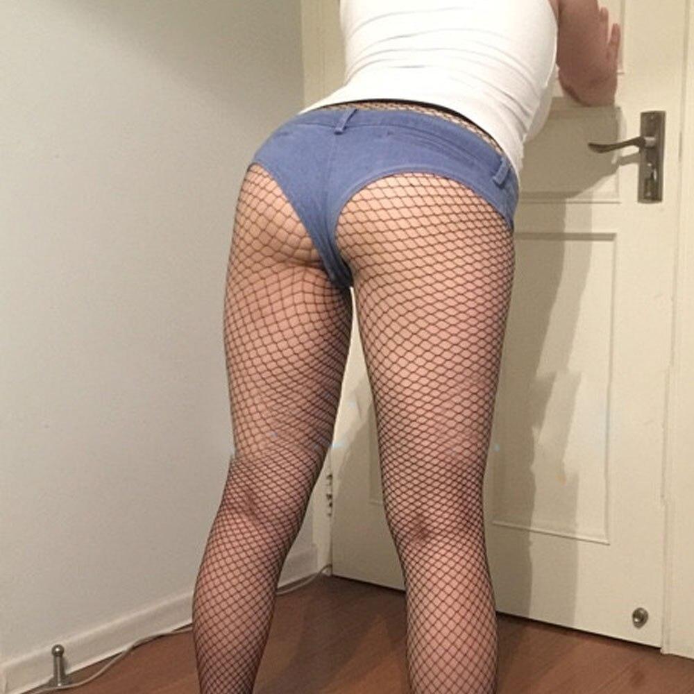 Sexy women wearing jean shorts