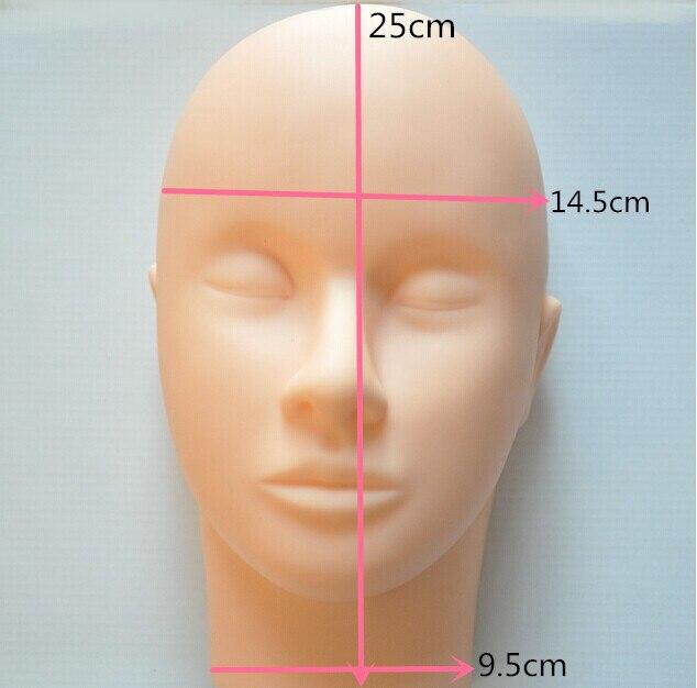 mannequin head for makeup practice mannequin head for eyelash Mannequin Training Head Closed Practice Model