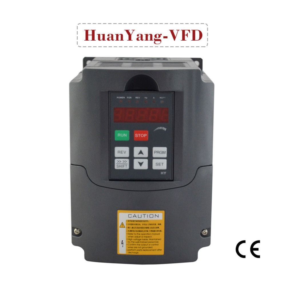 frequency inverter for motor 380V 1.5KW 2HP variable frequency drive HUAN YANG brand VFD inverter